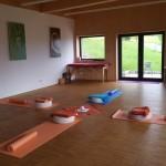 Unser Yogaraum im Landhaus Kennerknecht