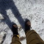 Letzter Schnee im April